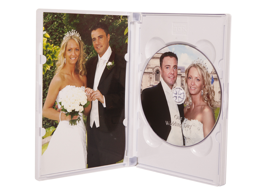 Cd dvd presentation cases wedding dresses