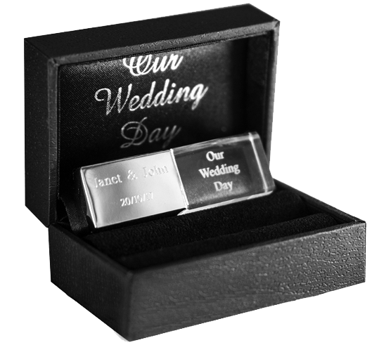 Wedding Flash Drive Case